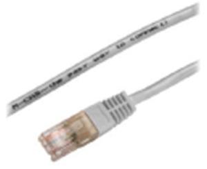 M-CAB CAT5e-U/UTP-PVC-7.50M-GRY 3127