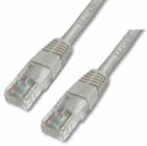 M-CAB CAT6-U/UTP-PVC-1.00M-GRY 3164