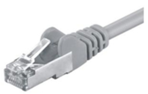 M-CAB CAT5e-SF/UTP-PVC-1.50M-GRY 3249