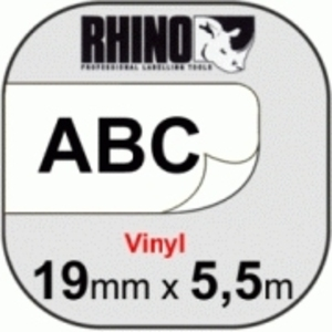 DYMO Rhino Vinylband, schwarz S0718620
