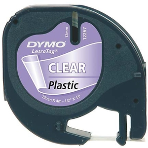 DYMO LetraTag Beschriftungsband, Plastik S0721550