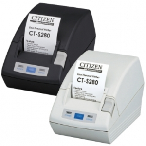 Citizen CT-S280, RS232, 8 Punkte/mm (203dpi), weiss CTS280RSEWH