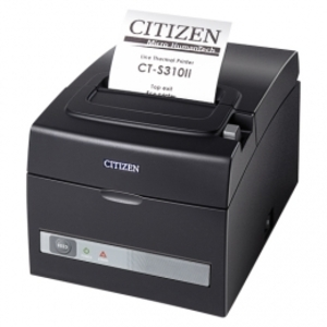 Citizen CT-S310II, Dual-IF, 8 Punkte/mm (203dpi), Cutter, schwarz CTS310IIEBK