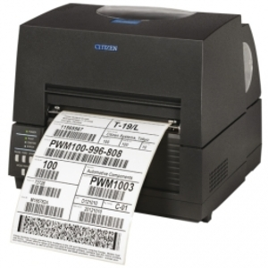 Citizen CL-S6621, 8 Punkte/mm (203dpi), ZPLII, Datamax, Multi-IF (WLAN), schwarz 1000836W