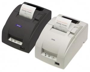 EPSON TM-U220A, Ethernet, Cutter, schwarz C31C513057E