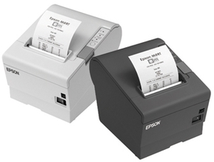 EPSON TM-T88V, USB, Ethernet, hellgrau C31CA85031E