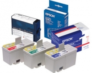 EPSON Patrone, gelb C13S020566