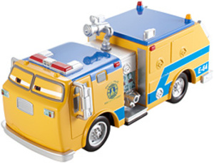 Disney Junior Disney Cars Deluxe Fahrzeug Benny Brakedrum CJN11