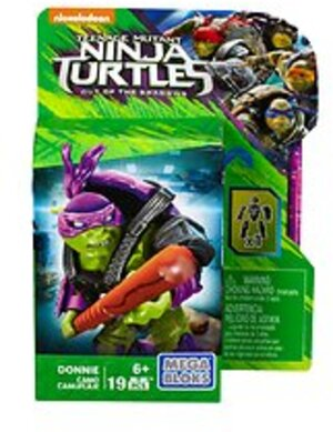 MEGA BLOKS Teenage Mutant Ninja Turtles Movie 2 - Tarnanzug Donnie DPW18