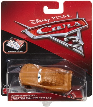 Matchbox Disney Cars Die-Cast Lightning McQueen als Chester Whipplefilter DXV51