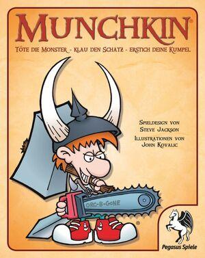 Pegasus Spiele Munchkin, Kartenspiel, d ab 12 Jahren, 3-6 Spieler, Spieldauer ca. 60 Min. 17211G