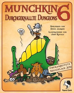 Pegasus Spiele Munchkin 6: Durchgeknallte Dungeons 17216G