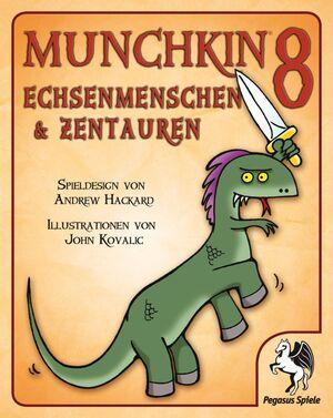 Pegasus Spiele Munchkin 8: Echsenmenschen & Zentauren 17218G