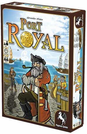 Pegasus Spiele Port Royal, d Familienspiel ab 8 Jahren, 2-4 Spieler 62618114