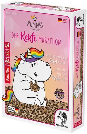 Pegasus Spiele Pummeleinhorn Kekfe Marathon ab 6 Jahren, 2-5 Spieler, Spieldauer 10-20 Min. 62618202