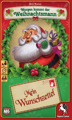 Pegasus Spiele Morgen kommt der Weihnachtsmann - Mein Wunschzettel 18212G