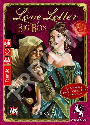 Pegasus Spiele Love Letter Big Box 18214G