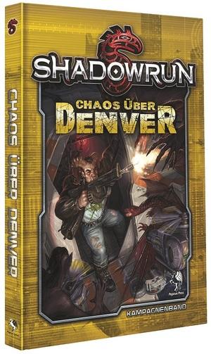 Pegasus Spiele Shadowrun 5: Chaos über Denver (Hardcover) 45060G