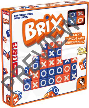 Pegasus Spiele Brix, d Familienspiel ab 6 Jahren, für 2 Spieler 62657109