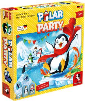 Pegasus Spiele Polar Party, d ab 5 Jahren, 2-4 Spieler, lustiges Kinderspiel 62666023