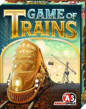 ABACUSSPIELE Game of Trains (d,e) 8161
