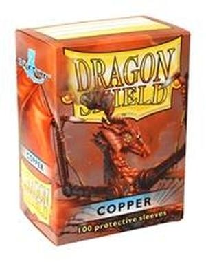 Arcane Tinmen Dragon Shield: Kupfer (100 Stück) ART10016