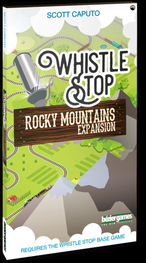 Bezier Games Whistle Stop: Rocky Mountain Exp. BEZ00027