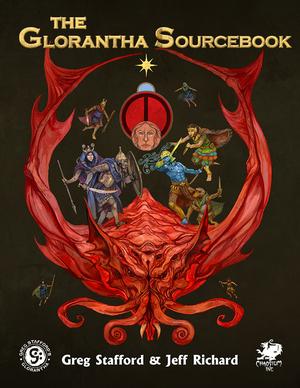 Chaosium Glorantha Sourcebook, The CAO4033H