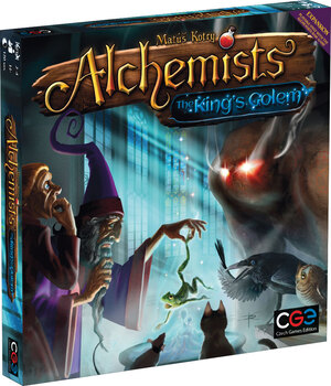 Czech Games Edition Alchemists: The King's Golem CGE00038