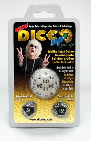 EDCConcept Dice-Up D50 Lottowürfel im Blister DIC85982