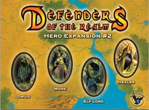 Eagle-Gryphon Games Defenders of the Realm: Hero Expansion #2 EAG01292