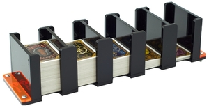 e-Raptor Board Game Card Holders: Card Holder - 5S Solid (Black) ERA93600