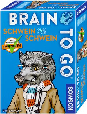 KOSMOS Brain to go - Schwein oder nicht Schwein 690823