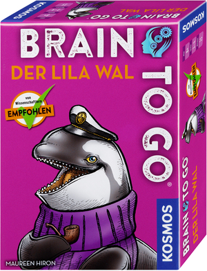 KOSMOS Brain to go - Der lila Wal 690861