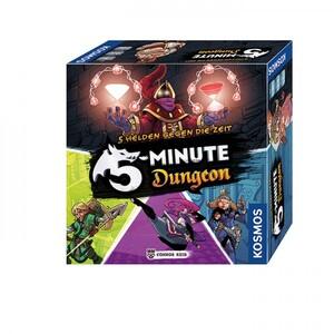 KOSMOS 5-Minute Dungeon - 5 Helden gegen die Zeit *Empfohlen SdJ 2018* 692889