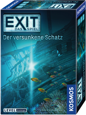 KOSMOS EXIT - Das Spiel: Der versunkene Schatz 694050