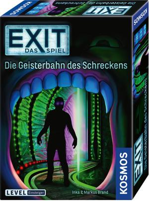 KOSMOS Exit Geisterbahn des Schreckens, ab 10 Jahren, 1-4 Spieler, Einsteiger 697907A1
