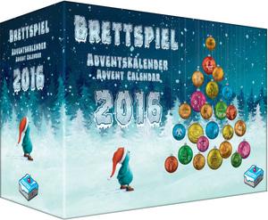 Frosted Games Brettspiel-Adventskalender 2016 FRG00004