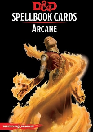 Gale Force Nine Dungeons & Dragons: Arcane Spell Deck REVISED (253 Cards) GF973915