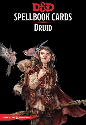 Gale Force Nine Dungeons & Dragons: Druid Spell Deck REVISED (131 Cards) GF973917