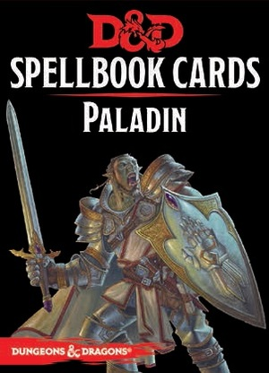 Gale Force Nine Dungeons & Dragons: Paladin Spell Deck REVISED (69 Cards) GF973919