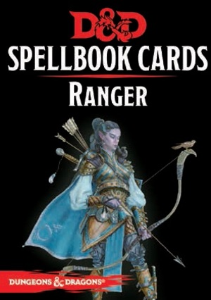 Gale Force Nine Dungeons & Dragons: Ranger Spellbook Cards REVISED (46 Cards) GF973920