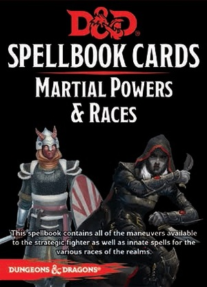 Gale Force Nine Dungeons & Dragons: Martial Powers&Races Deck REVISED (61 Cards) GF973921