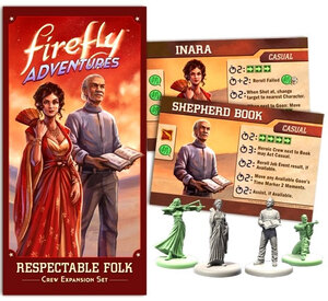 Gale Force Nine FIREFLY Adventures: Brigands & Browncoats - Respectable Folk Expansion GF9FADV2