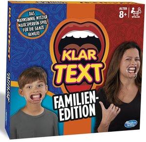 Hasbro Klartext Familienedition, d ab 8 Jahren, 4-10 Spieler, mit 200 Karten 67103451