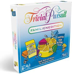 Hasbro Trivial Pursuit Familie, d ab 8 Jahren, 2-6 Spieler, Wissensquiz für alle 67174921