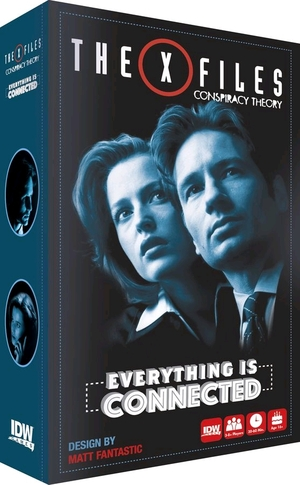 IDW Games The X Files: Conspiracy Theory IDW01497