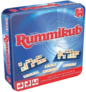 Jumbo Original Rummikub in Metalldose JUM03973