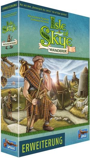 Lookout Spiele Isle of Skye: Wanderer Erweiterung LOG01092