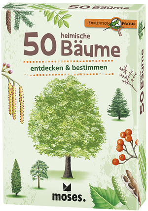 moses. Verlag Expedition Natur: 50 heimische Bäume MOS09716